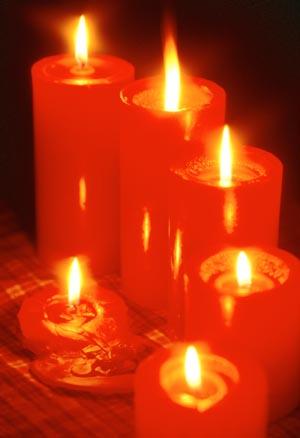 은은한 촛불 장식으로 연말연시 분위기 `업` : 국제신문