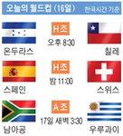 [남아공 월드컵 축구] 오늘의 월드컵(16일)