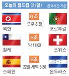 오늘의 월드컵  (21일)