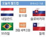 [남아공 월드컵 축구] 오늘의 월드컵(28일)