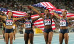미국, 여자 400m 계주 4년 만에 정상 탈환