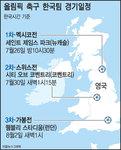 [그래픽 뉴스] 올림픽 축구 한국팀 경기일정