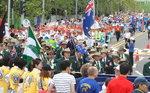 라이온스 세계대회 4만명 '부산 퍼레이드'