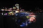 살아 숨쉬는 부산바다 <9> 민락 수변공원의 밤바다
