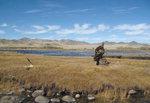 [그림으로 읽는 책 한 권] 먹잇감을 노리는 매서운 눈초리…몽골 초원의 노련한 사냥꾼