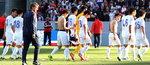 한국 축구 대표팀, 미국에 0-2 완패…2경기 연속 '영패'