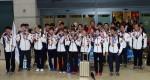 소치 올림픽 한국선수단, 겨울축제 마치고 귀국