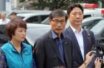 전교조 김정훈 위원장, 전임자 대표해 경찰 출석