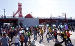2000여 명 뚜벅이 '영도다리의 가을' 만끽