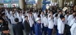 아시안게임 북한 선수단 178명, 평양으로 출국