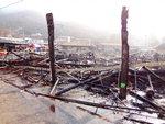 하동 화개장터 점포 절반 불타…피해 규모는