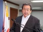 """김무성 기자회견 """"성완종, 사망 4~5일 전 '구명 전화'"""""""