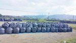 후쿠시마 검게 뒤덮은 오염토 봉지…200조 쏟아붓고도 복구 요원