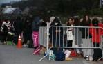 [포토]청룡영화제 시상식장 매서운 추위 속 새벽부터 기다린 팬들