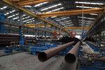 대형 파도에 견디는 철재 삼발이 방파제 개발 성공