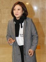 """[포토] 정가은 결혼식 참석한 김숙 """"나도 가야 하는데 으휴!"""""""