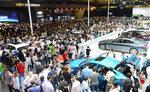 부산모터쇼 사흘간 21만 명 다녀가…VR(가상현실)체험 '북적'