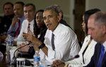 오바마, 경찰·흑인 운동가 백악관 초청 '화합 회동'