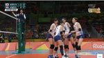 [리우 올림픽] '김연경 8점' 여자 배구, 네덜란드에 0대 1 (1세트 종료)