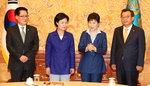 """박 대통령 """"사드 협조 요청"""" 강행 재확인…북핵 규탄은 공감"""