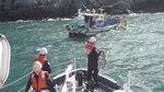 태풍 '차바'때 유실된 폐어구 선박 안전 위협
