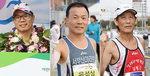 제18회 부산마라톤대회- 화제의 참가자들