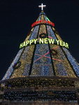 [영상] 높이 18m 대형 트리 '해운대 빛 축제' 시작
