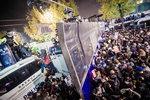 대학생 포토스토리- 차벽 너머 청와대 향한 100만 함성