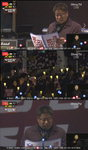 '오마이TV' 12월 3일 촛불집회 생중계 … 본행사 시작