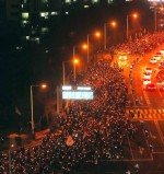 김진태 사무실 앞, 광화문 광장 못지않은 성난 시민들의 목소리