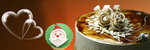 미리 크리스마스…달콤한 '케이크 전쟁'