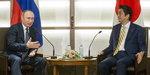 러·일 정상회담서 아베-푸틴 북방섬 반환 신경전