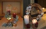 트리 대신 리스, 조명 대신 양초…호텔 같은 우리집 성탄절 풍경