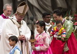 """프란치스코 교황 """"고통받는 어린이들을 기억하라"""""""
