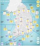 [오늘 날씨]올겨울 최강 한파...서울 -12도, 부산 -6도 등 전국 영하권 '꽁꽁'