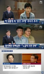 [jtbc 뉴스룸]朴 대통령 측 갑작스런 증인 39명 신청, 속내는?