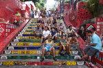'오래된 미래 도시'를 찾아서 <5> 리우 데 자네이루 셀라론 계단, 미래로 가는 골목