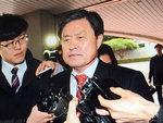 [영상] 엘시티 연루 의혹 허남식 지역발전위원장 검찰 출두