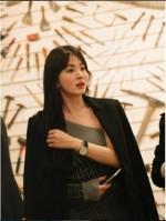 송혜교 버버리 쇼에서도 역시, 꿀리지 않는 미모
