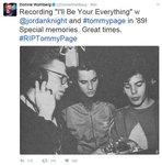 토미 페이지 빌보드 1위 히트곡은 '뉴키즈온더블록' 합작품