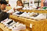 유명 수입 신발이 가득