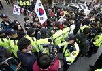 경찰, 삼성동 박근혜 자택앞 집회 제한 검토