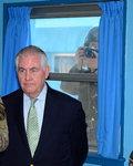 """미국 """"북한이 위협하면 행동""""…첫 방한 틸러슨 국무 경고"""