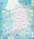 [내일 날씨] 전국 흐리고 비…세월호 인양 중인 진도에도 비
