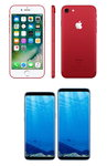 '아이폰 7 레드' 이동통신3사 동시 출시..4월 출시 예정 '우주폰' 갤럭시S8 승자는?