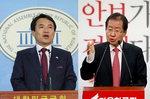 자유한국당 홍준표 9.5% 김진태 5%.. '친박 후보 단일화' 물밑 작업?