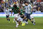 [2018 러시아 월드컵 최종예선]메시 빠진 랭킹 1위 아르헨티나, 97위 볼리비아에 0 대 2 패...월드컵도 불투명