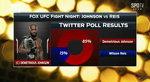 UFC 팬, 존슨 승리 예상...확률 85%로 헤이스에 앞서
