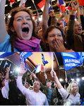 프랑스 대선 출구조사 결과 … 마크롱 르펜 결선투표 진출 가시화