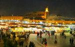'오래된 미래 도시'를 찾아서 <17> 모로코 마라케시 제마 엘 프나 광장 텅 빈 낮 예술로 가득한 밤